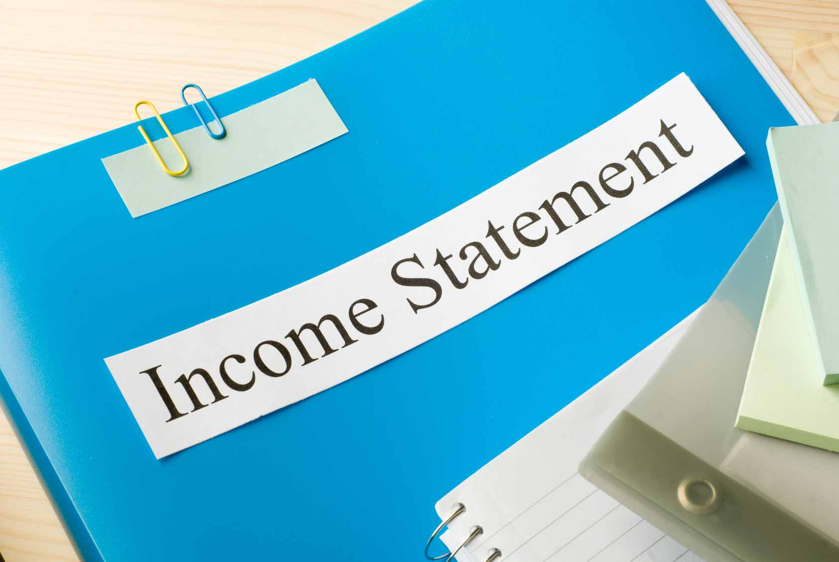 Understanding Your Financial Statements – The Income Statement
